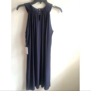 Calvin Klein Midnight Blue Sleeveless Soft Dress